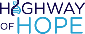 Highway of Hope Logo- genetic disorders rare