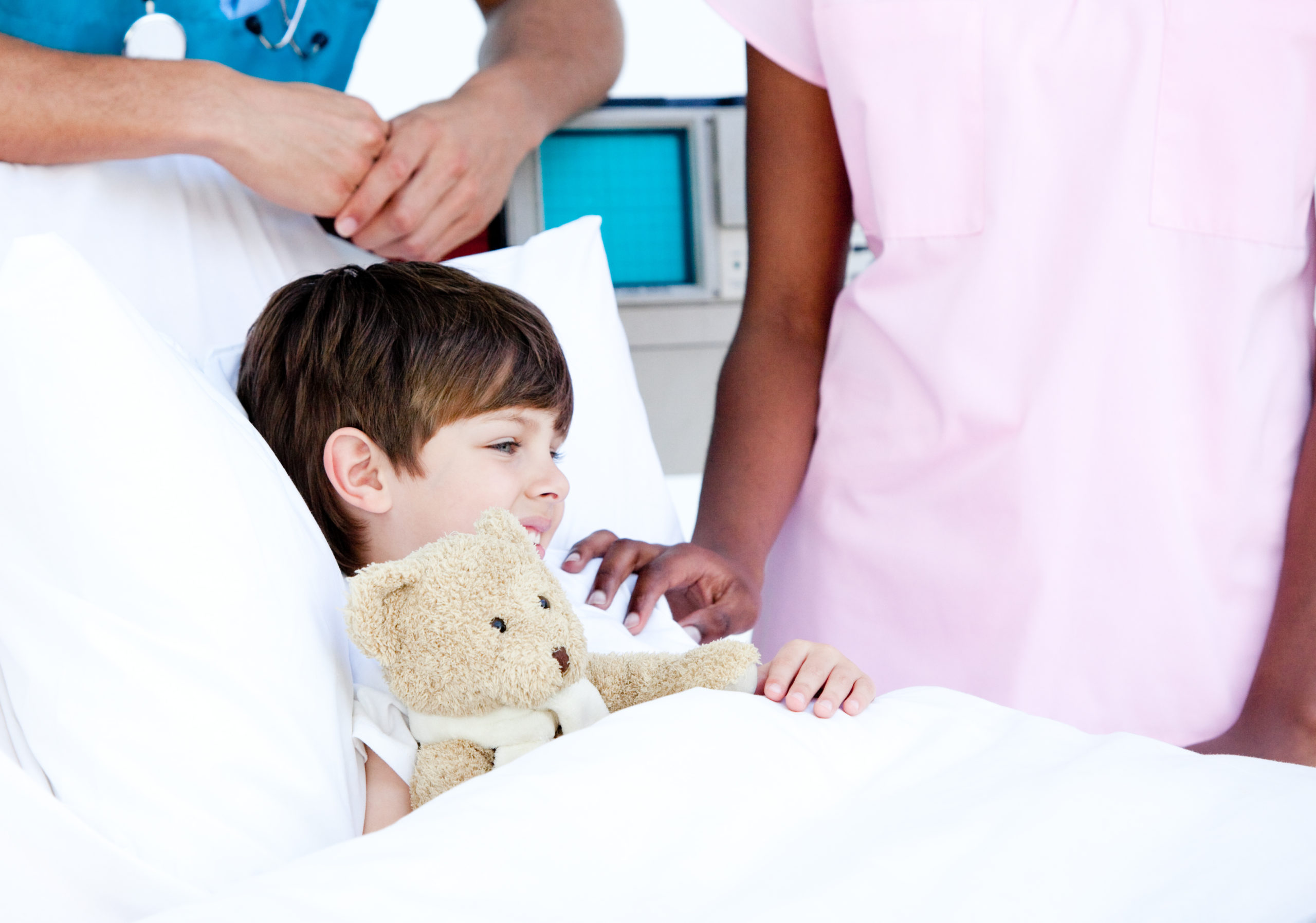 Highway of Hope little boy teddy bear- procedure- financial and medical assistance- brain surgery