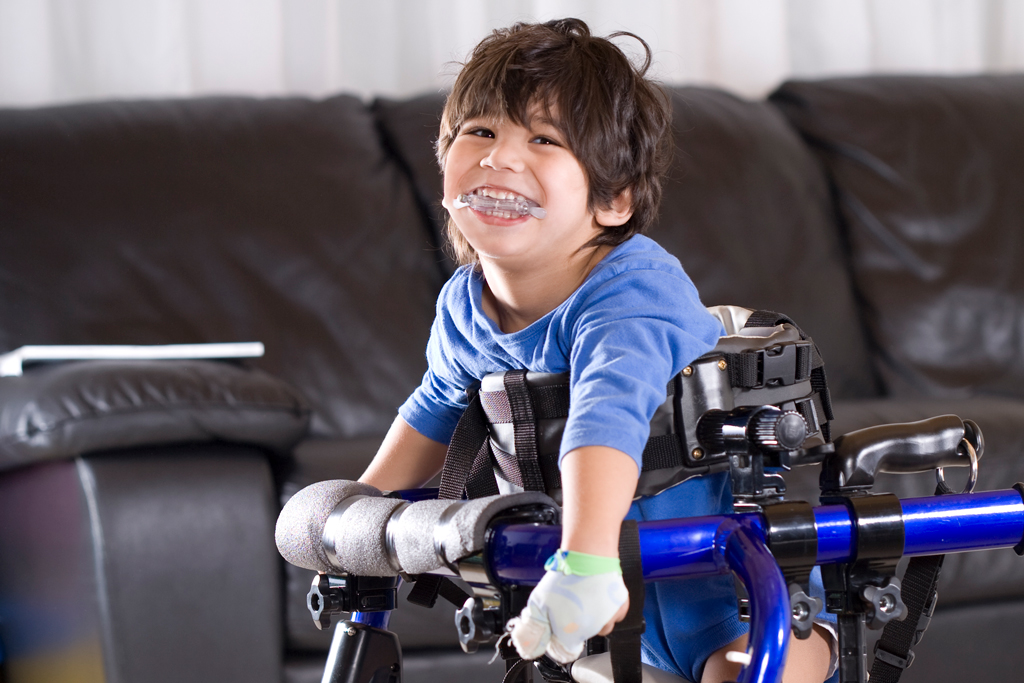 HOH personalized support- handicapped boy- rare disease clinical trial- orphan drugs